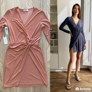 Babaton Jeff Long-sleeve Mini Dress